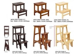 AKM-Step Stool , Step Chair